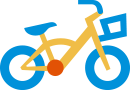 Healthy Kids bike icon